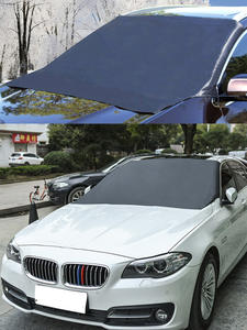 Sunshade-Cover Protector Car-Windshield Automobile Magnetic Car-Front Waterproof