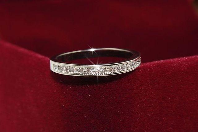 3 цвета простые золотые розовые серебряные круглые кольца для фотография