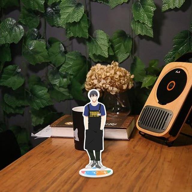 1 pièces Anime donné dessin animé chiffres acrylique Figure debout modèle décoration de bureau