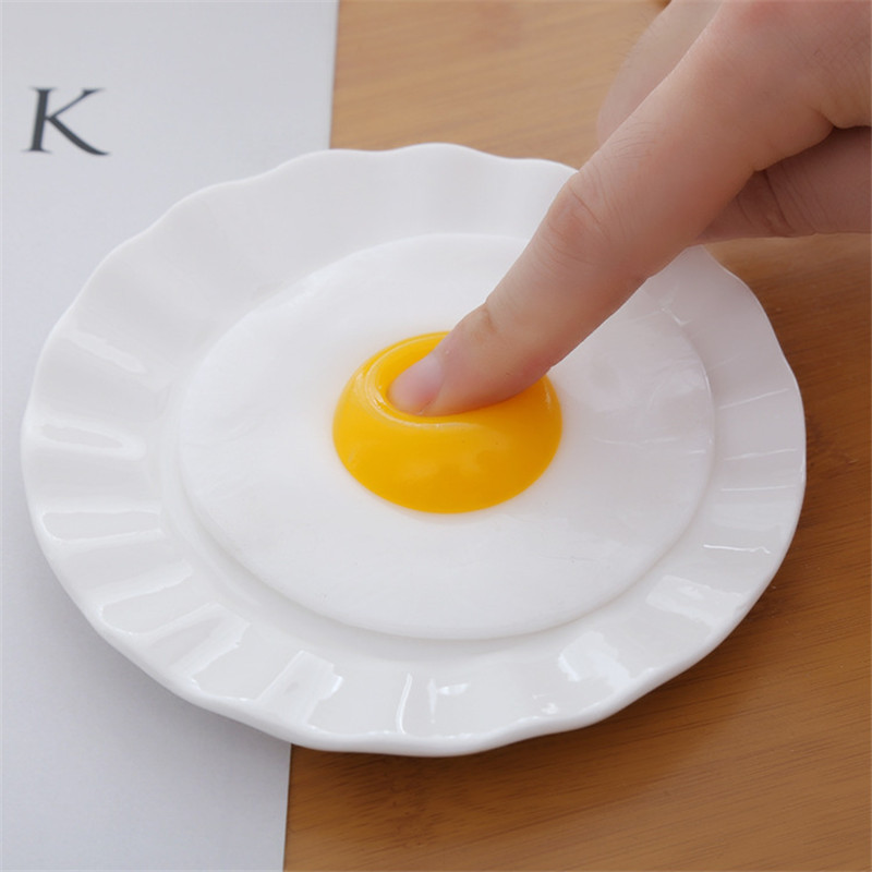 Huilong Creative Tidy Hot Toys Simulation Vent Egg Toy Chicken Novelty Toys New Strange Squishy  Surprise Jumbo Squishy  Squish