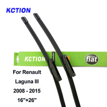 цена на Windshield wiper blade windscreen wiper car accessories for Renault Laguna Mk1/Mk2/Mk3 Fit Hook/Bayonet Arms Year from 1993-2015