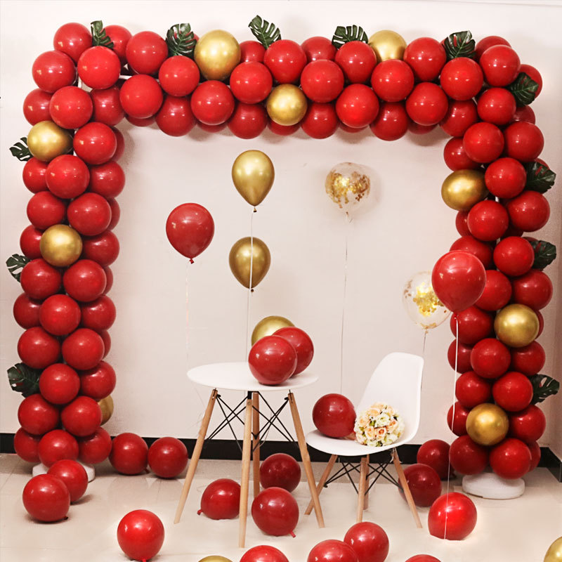 Square Balloon Arch Wedding Decoration Arch Water Injection Base Opening Activity Celebration Deconstructable Arch Rack
