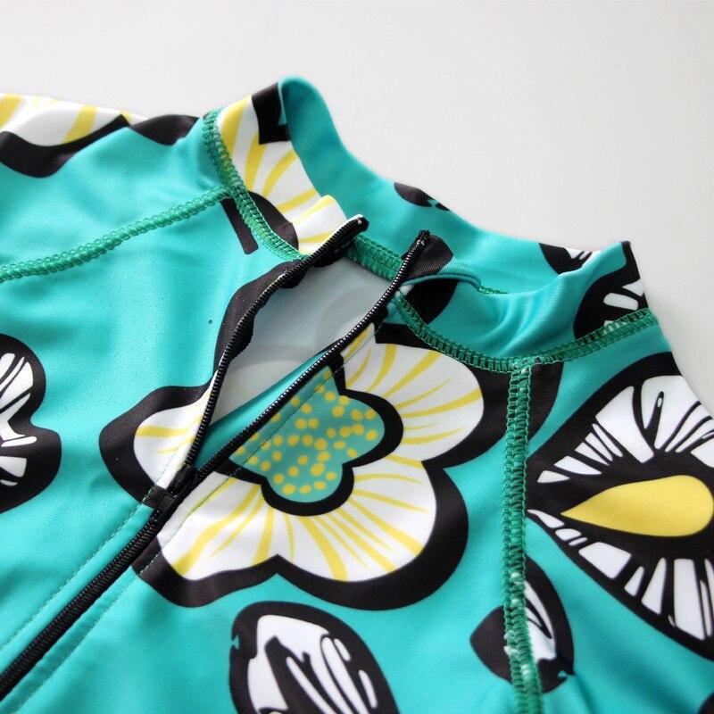KID'S Swimwear Boy Big Boy Teenager One-piece BOY'S Swimming Trunks Set Students Long Sleeve Split Type Sun-resistant Swimwear