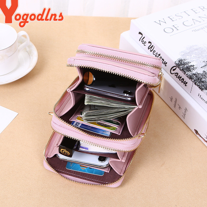 Yogodlns Crossbody Cell Phone Shoulder Bag Cellphone Bag Fashion Daily Use Card Holder Mini Summer Shoulder Bag for Women Wallet 2