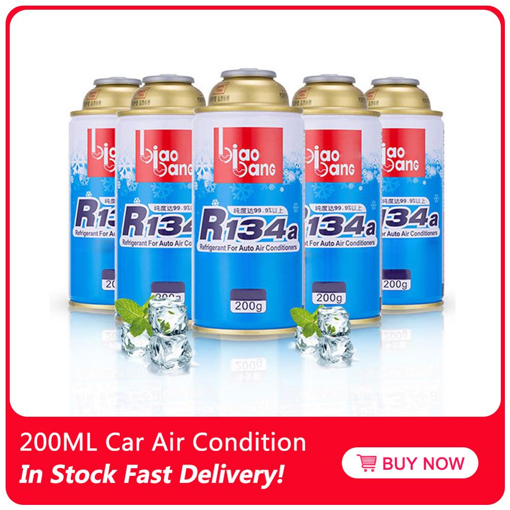200ML Car Air Conditioning Refrigerant Cooling Agent R134A Environmentally Friendly Refrigerator Water Filter Replacement