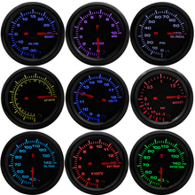 Gauge Pods 7-Colors RPM Air-fuel-ratio/egt/Tachometer 2--52mm