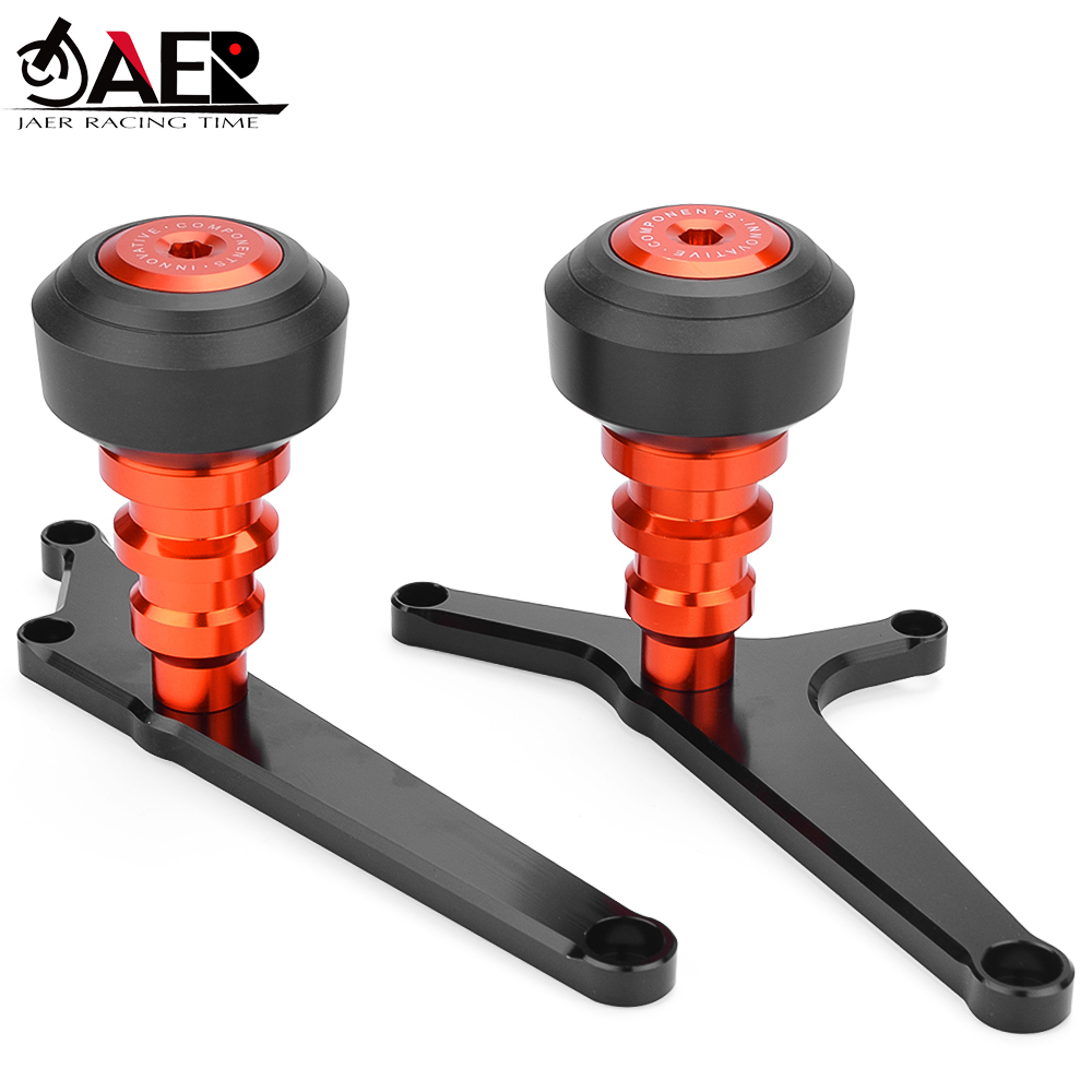 Frame Sliders Protections Anti-chute Engine Cover Falling Crash Protector pour Duke 125 200 390