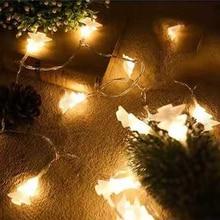LED Garland Christmas Tree String Fairy Lights Christmas Lights Outdoor Christmas Decorations For Home Christmas Tree Decoration цена и фото