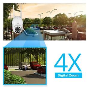Image 2 - FUERS 1080P kamera zewnętrzna kamera PTZ IP bezpieczeństwo CCTV 4X Zoom kamera monitorująca WIFI P2P chmura noktowizor wykrywanie ruchu