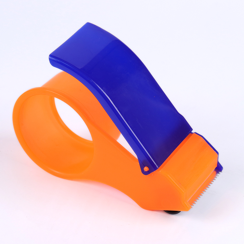 1PC Simple Practical Packing Dispenser Supplies Sealing Packaging Parcel Plastic Roller Width Tape Cutter Dispenser