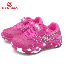 FLAMINGO Spring Sport Running Children Shoes Hook&Loop Outdoor Navy Sneaker for Kids Size 23-29 Free Shipping 91K-JSZ-1302 flamingo shoes 92b xy 1650 shoes for children 23 28