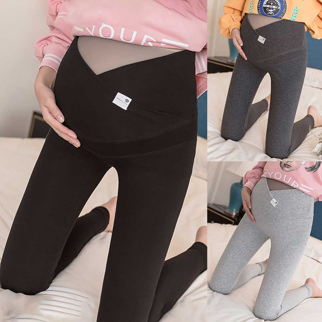 Maternity Jeans High Waist Maternity Flared Pants Elasticity Jeans Adjustable Denim Elegant Slim Fit Winter Pants Pregnancy Jeans Women Casual Maternity Clothes Women Shops