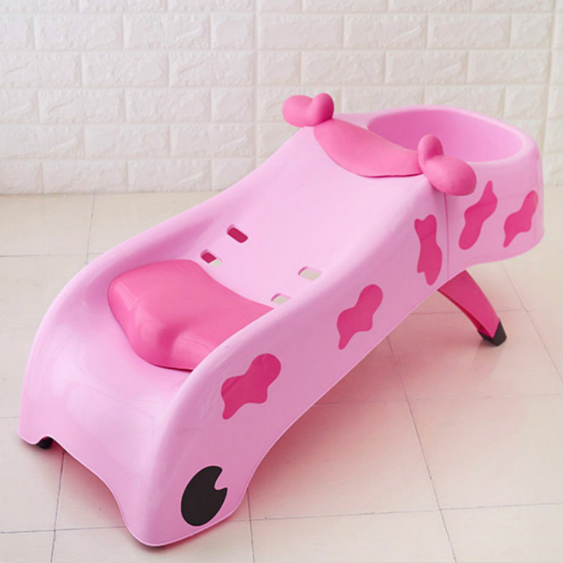 Children's Shampoo Lift Chair Children's Shampoo Bed Shampoo Stand Can Be Folded, Enlarged And Folded