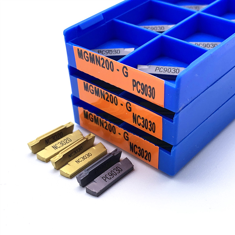 10pcs MGMN150-G NC3020 1.5mm Cutting and grooving cnc carbide turning insert
