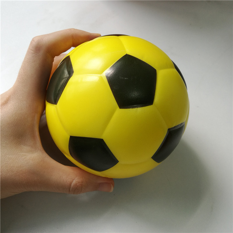 10cm Foam Toy Football Anti Stress Balls Baby Toy Balls Squeeze Soft Toys For Kids Children