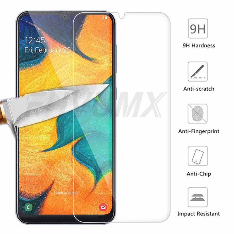 Tempered Glass For Samsung Galaxy A01 A51 A71 Screen Protector for Samsung A10 A20 A30 A40 A50 A60 A70 A80 A90 Protective Film
