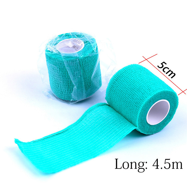 50Pcs Disposable Non-wove Elastic Self Adhesive Bandage Tattoo Accesories Permanent Makeup Bandage Tightening Wrap Sport  Tape 4