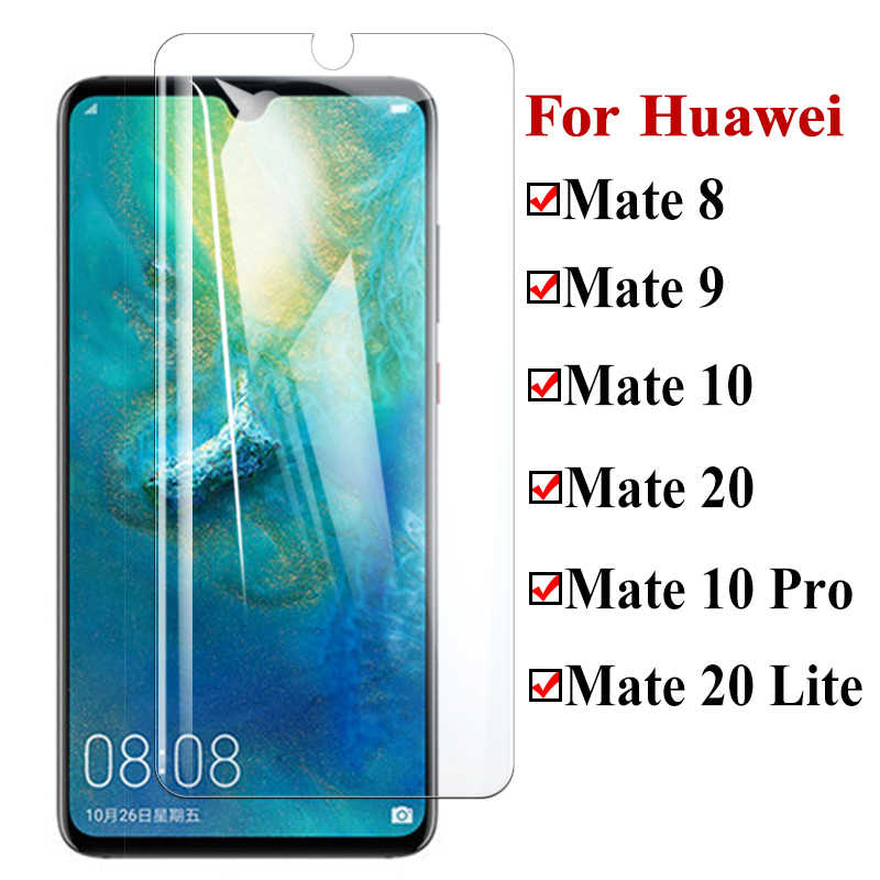 Protective Glass On For Huawei Mate 20 Lite 10 Pro Tempered Armor Huawai 8 9 Light Screen Protector Huavei Huaweii Sheet Tremp