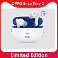 Original OPPO Enco 2 auriculares 42dB TWS auriculares DYNAUDIO inalámbrico Bluetooth 5,2 auricular de 25 horas de reproducción IPX5 tipo C IP54