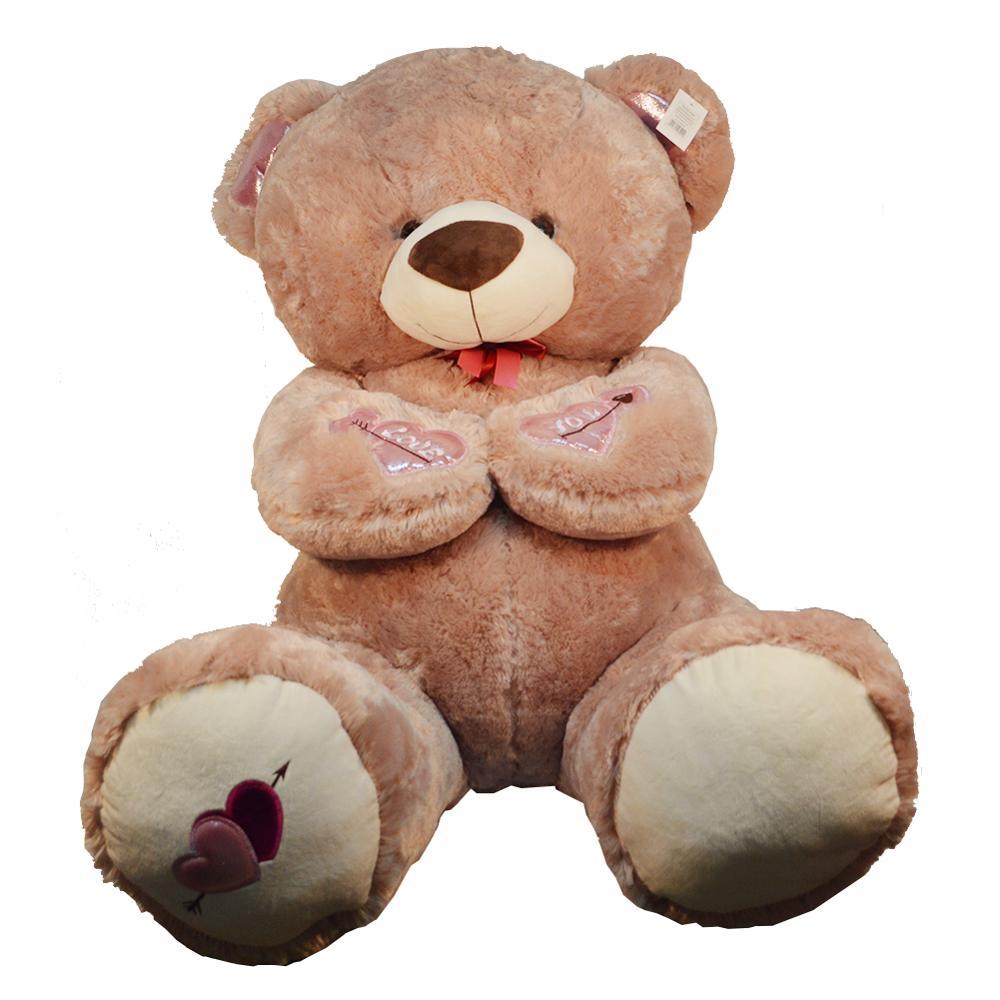 70cm 1pc je t'aime ours grande peluche peluche tenant amour coeur doux cadeau pour saint valentin anniversaire filles noël Brinquedos