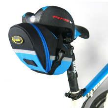 Водонепроницаемая сумка на седло для велосипеда заднее сиденье