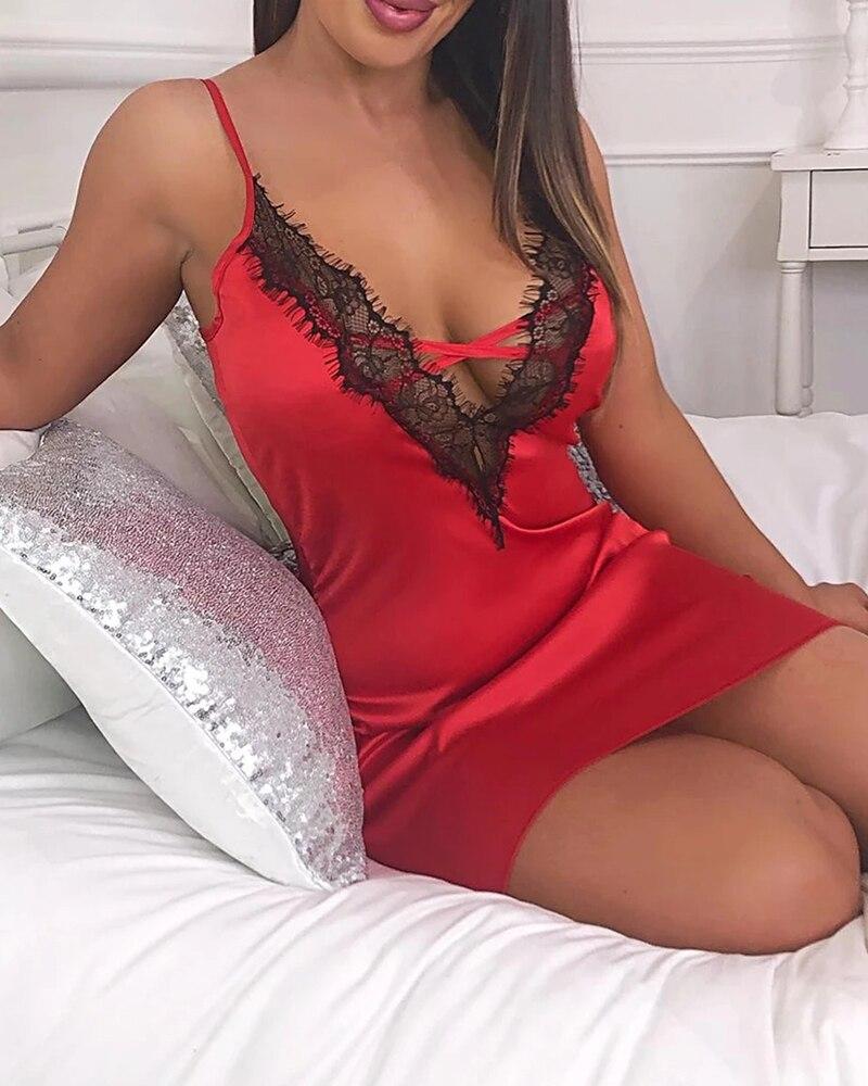 Chemise de nuit nuisette sexy