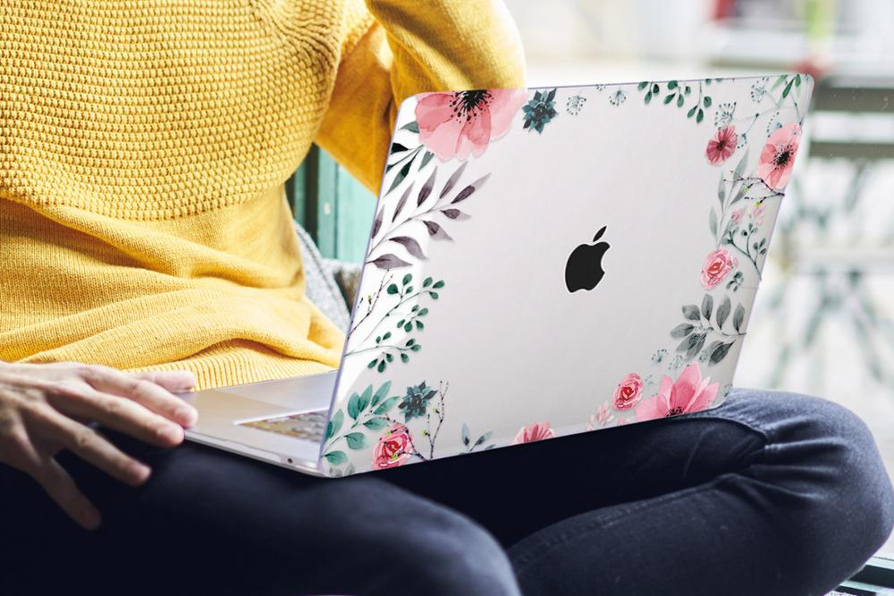 Floral Case for MacBook 174