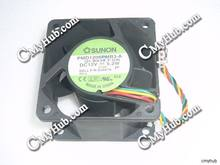 For SUNON PMD1206PMB3-A (2).B938.F.GN DC12V 5.2W 6038 6CM 60mm 60x60x38mm 5Pin Cooling Fan(China)