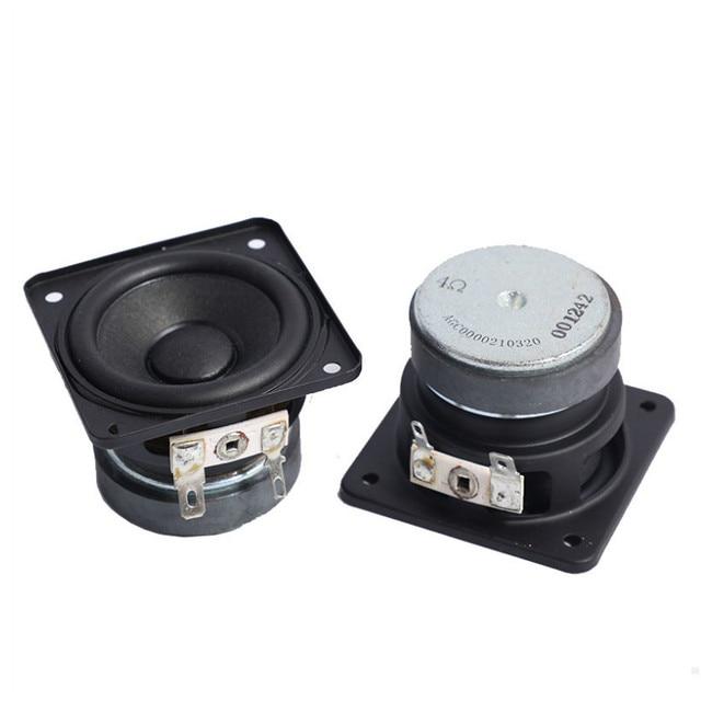 SOTAMIA 2Pcs 2 Inch Hifi Full Range Mini Speaker Driver 4 Ohm 10W DIY Music Sound Amplifier Speaker Home Theater Loudspeaker