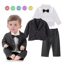 Новинка года, Осеннее поступление, красивый костюм для свадебной вечеринки для мальчиков комплект из 3 предметов, костюм для мальчиков, куртка наряд для мальчиков, 3165