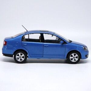 Image 3 - 1:18 גבוהה מוקפד פולקסווגן POLOSedan סגסוגת דגם רכב סטטי מתכת דגם כלי רכב עם קופסא מקורית עבור אספנות מתנה