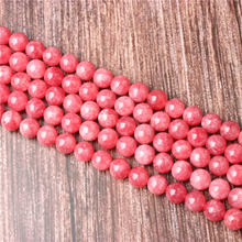 Hot Sale Natural Stone Rhodochrosite Beads 15.5 Pick Size: 4 6 8 10 mm fit Diy Charms Beads Jewelry Making Accessories