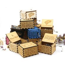 Wholesale handlebar castle in the sky music box power game Zelda theme Christmas gift