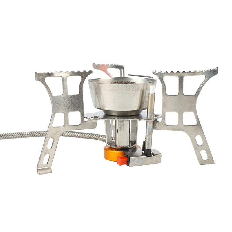 Outdoor Gas Stove Folding Electronic Stove Camping Gas Burner Hiking Portable