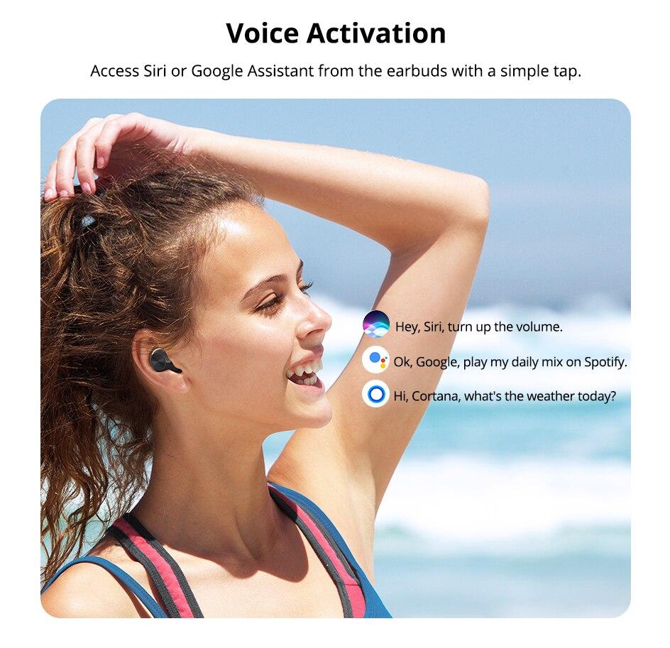 Tronsmart Spunky Beat TWS Bluetooth 5.0 Earphone APTX Wireless Earbuds with QualcommChip CVC 8.0 Touch Control Voice Assistant (11)