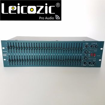 Leicozic FCS966 31 band stereo graphic equaliser EQ speaker management graphic equalizer audio graphic eq professional audio фото