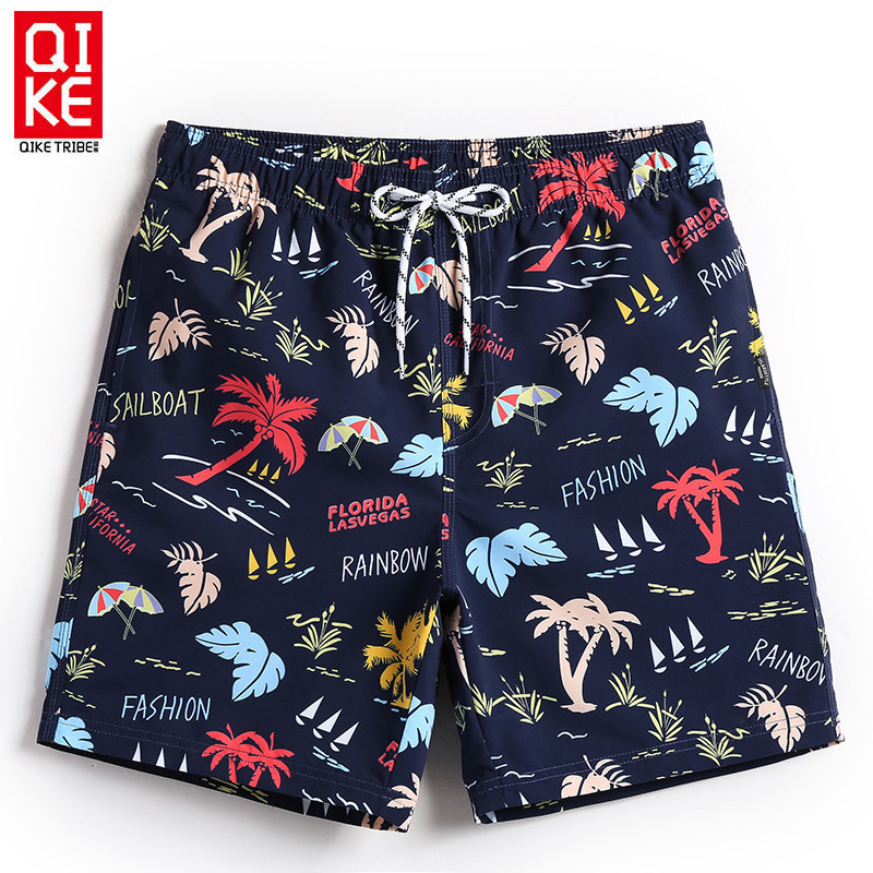Chic Beach Shorts Men's Sports Casual Shorts Breathable Loose-Fit Shorts Large Size Fashion Shorts Holiday Boxers