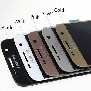 Image 5 - מקורי סופר AMOLED 5.1 LCD עם מסגרת לסמסונג גלקסי S7 תצוגת G930 G930F מגע מסך Digitizer עצרת