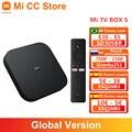 Globale Version Xiaomi Mi TV Box S Android TV 9,0 4K Ultra HD 2GB 8GB WiFi IPTV set Google Assistent Smart MiBox 4 Media Player