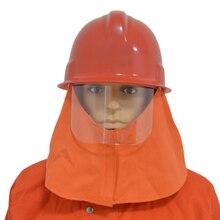 Прямая поставка спасательный шлем пожарный шлем защитные шапка с очками Кепки F шляпа