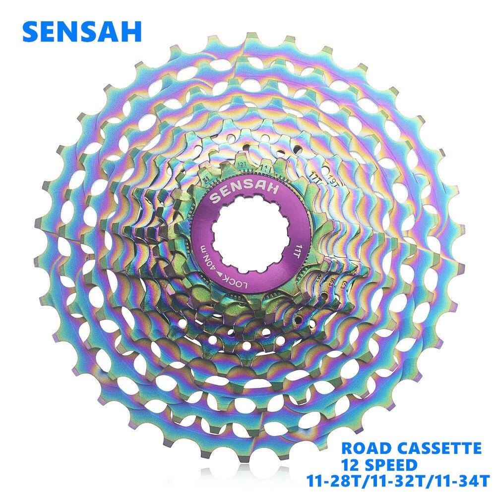 sensah Road Bicycle Cassette 12 Speed Flywheel 11-34T For SRAM Campagnolo