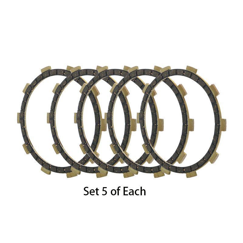 5 Pcs Motorcycle Engine Parts Clutch Friction Plates Fit For YAMAHA AS2 AT1 AT2 AT3 DT100 DT125 RD200 MX175 Replace 3HA-16321-00
