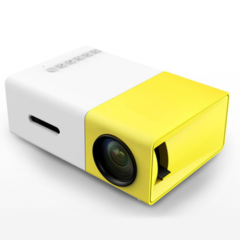 <font><b>YG300</b></font> LED Projector 600 lumen 3.5mm Audio 320x240 Pixels <font><b>YG</b></font>-<font><b>300</b></font> HDMI USB Mini Projector Home Media player image