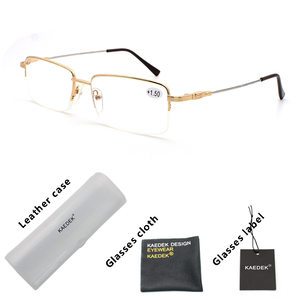 KAEDEK Unisex Anti-Blu-Ray Reading Glasses Unisex Fashion Clear Lens elastic Computer For Sight With Diopters+1 +1.5 +2 +2.5 +3(China)