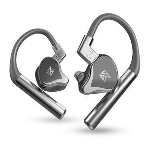 Image 3 - KZ E10 Tws Bluetooth 5.0 Aptx 이어폰 1DD 4BA 무선 터치 컨트롤 하이브리드 이어 버드 헤드셋 스포츠 소음 제거 저음 이어폰
