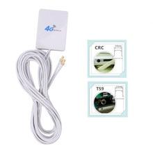 Panneau d'antenne avec connecteur SMA TS9 CRC9 3G/4G LTE, avec fil de 2.9M, pour routeur/Modem aérien Huawei