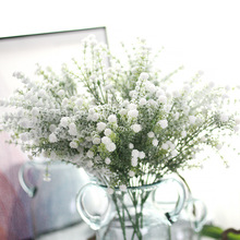 Artificial Flowers Sprinkle Snow Full Of Stars Spray Fake Bouquet  Christmas Home Decoration Wedding Layout 1 Pcs