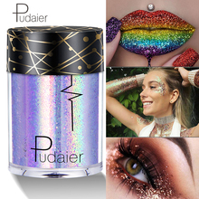 DHL Glitter Eyeshadow Metal Loose Powder Festival Tattoo Makeup imagic Pigment Shimmer and Shine Party Eye Shadow Wholesale joe shine i become shadow