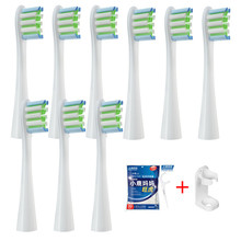 Replacement Brush Heads for Oclean X/ X PRO/ Z1/ F1/ One/ Air 2 /SE Sonic Electric Toothbrush Soft DuPont Bristle Nozzles 9 Pcs