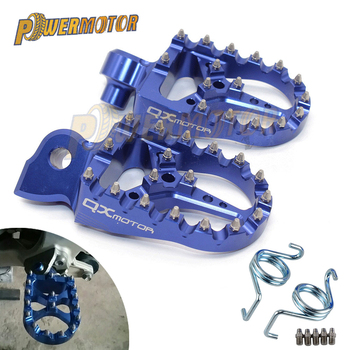 цена на CNC Motorcycle Foot Pegs Pedals Foot Rests Footrest For KTM Sx Sxf Exc Excf Xcf Xcw Xcfw 65 85 125 150 250 300 350 400 450 530